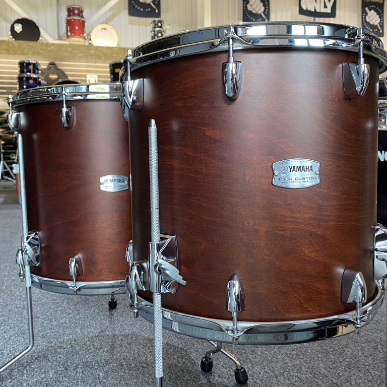 Yamaha Tour Custom 22in 5pc Shell Pack – Chocolate Satin