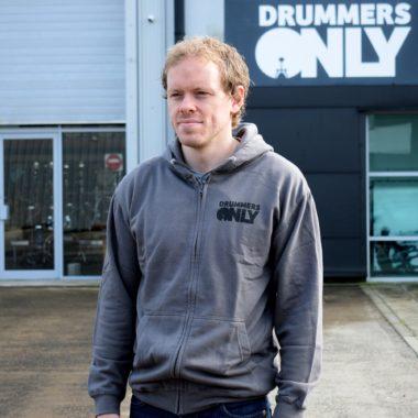 Drummers Only Steel Grey Hoodie
