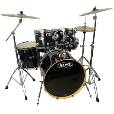 Mapex V Series 5pc Drum Kit with Sabian Cymbals – Pre-owned