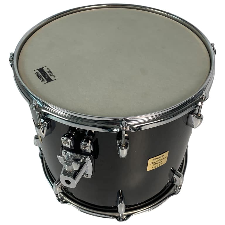 Yamaha Birch Custom Absolute 15x13in Tom, Solid Black – Pre-owned