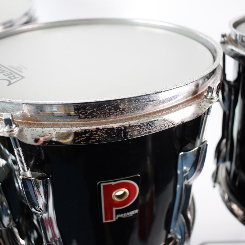 Premier APK 6pc Black Drum Kit Shell Pack – Pre-owned