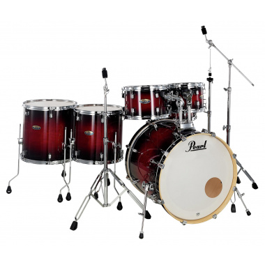Pearl Decade Maple 6pc Shell Pack – Gloss Deep Red Burst