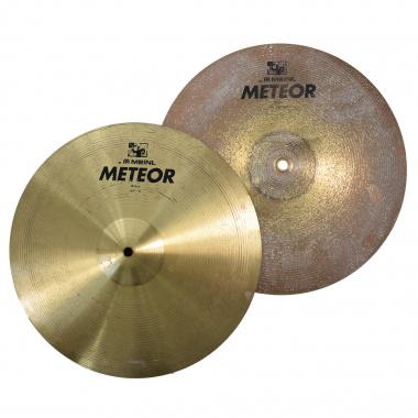 Meinl Meteor 14in Hi-Hat Cymbals – Pre-owned