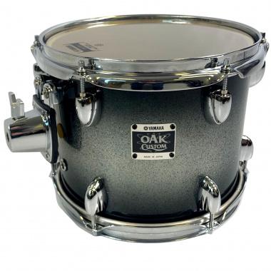 Yamaha Oak Custom 10x8in Tom – Black Sparkle Sunburst