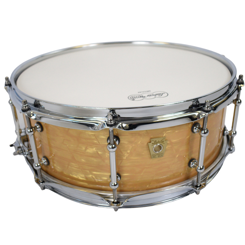 Ludwig Classic Maple 14x5in Snare W/Tube Lugs – Aged Onyx