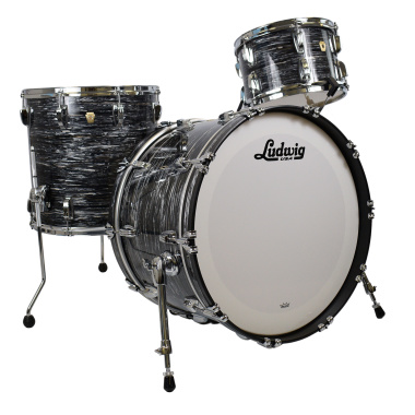 Ludwig Classic Maple 22in 3pc Shell Pack – Vintage Black Oyster