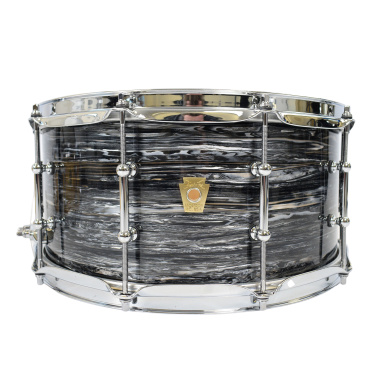 Ludwig Classic Maple 14×6.5in Snare W/Tube Lugs – Vintage Black Oyster