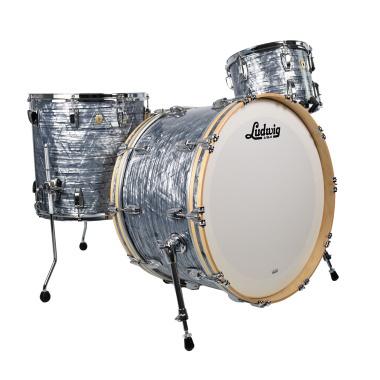 Ludwig Classic Maple 24in 3pc Shell Pack – Sky Blue Pearl