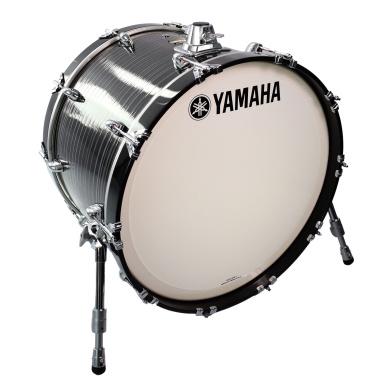 Yamaha Club Custom 22x15in Bass Drum – Black Swirl