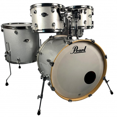 Pearl Export EXX 22in 5pc Rock Shell Pack – Arctic Sparkle – Pre-owned