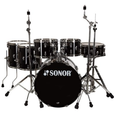 Sonor AQ1 Series 6pc Stage Set with Hardware – Piano Black