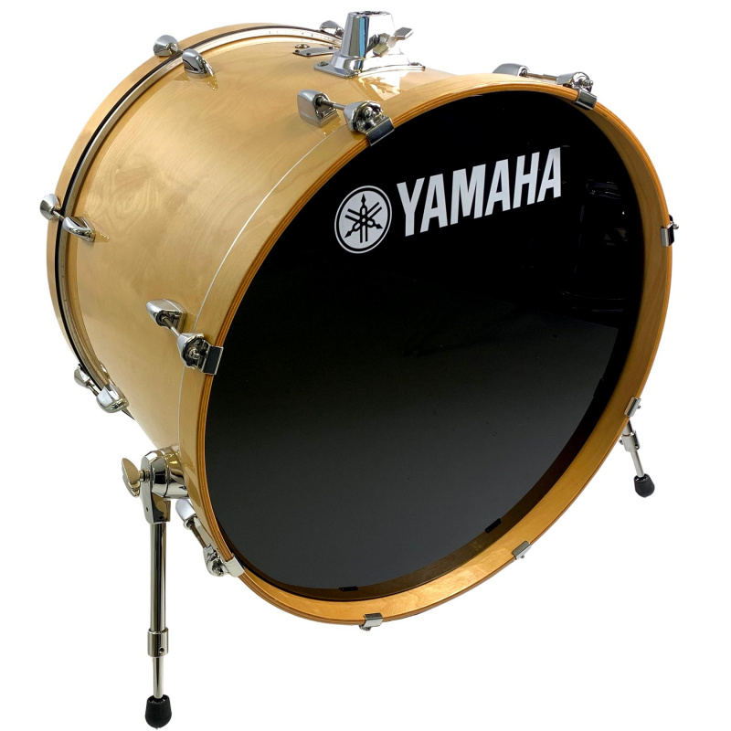Yamaha Stage Custom 24in Bass Drum – Natural Wood