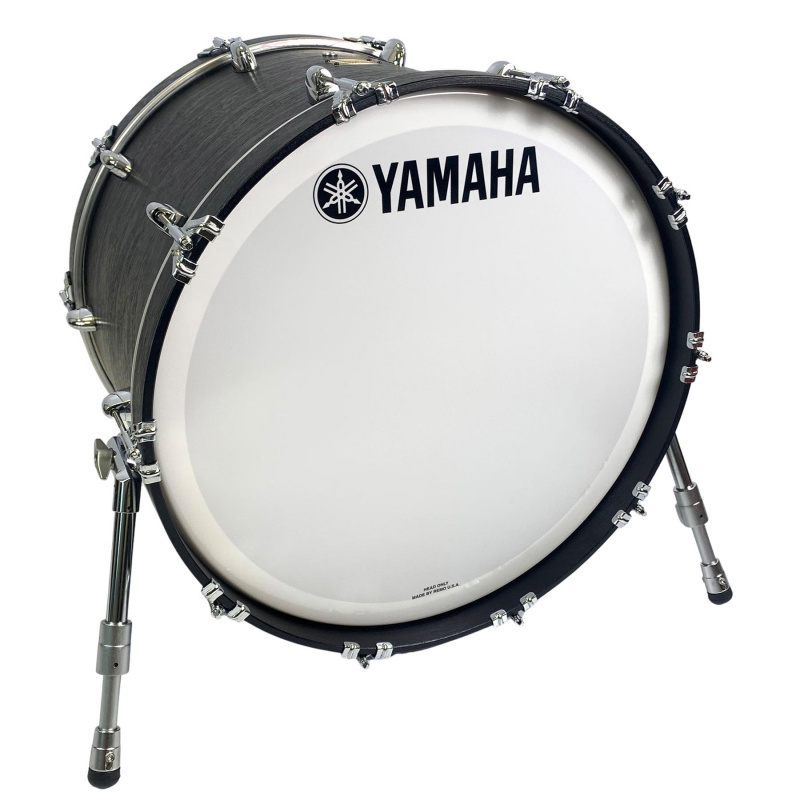 Yamaha Club Custom 22x15in Undrilled Bass Drum – Black Wood