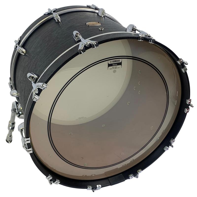 Yamaha Club Custom 22x15in Undrilled Bass Drum – Black Wood