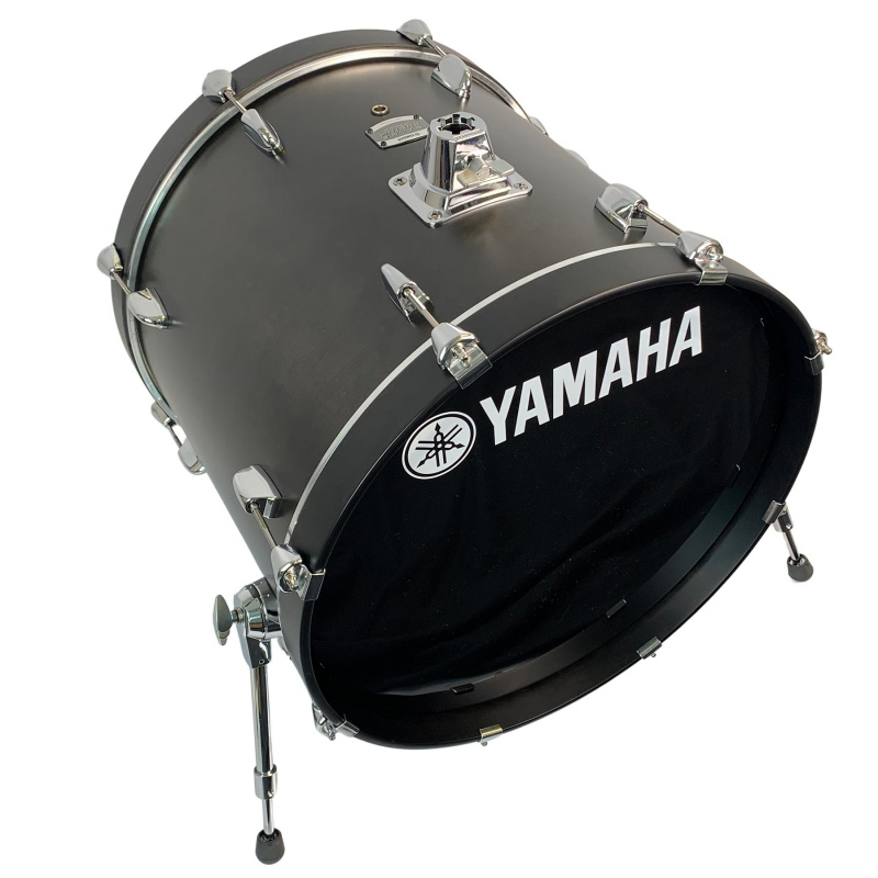 Yamaha Stage Custom 22in Bass Drum – Matte Black