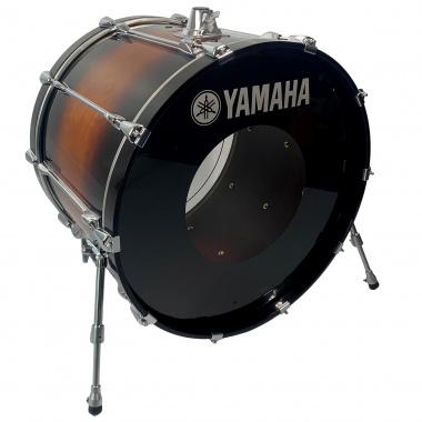 Yamaha Recording Custom 24x18in Bass Drum – Antique Sunburst