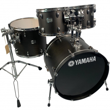 Yamaha Stage Custom 22in 4pc Shell Pack – Matte Black – Pre-owned