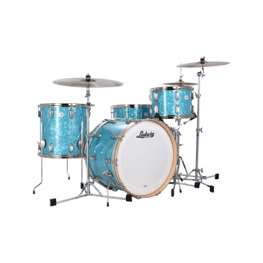Ludwig Vintage Select Series 3pc Classic Maple Shell Pack – Glacier Blue Pearl