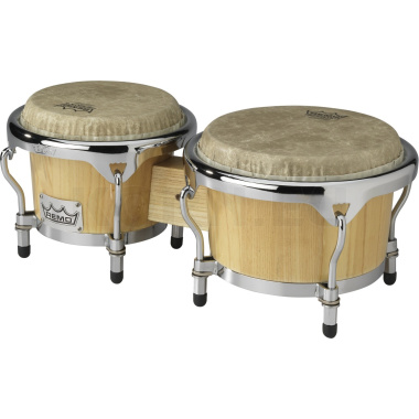 Remo Crown Percussion Bongos – Natural