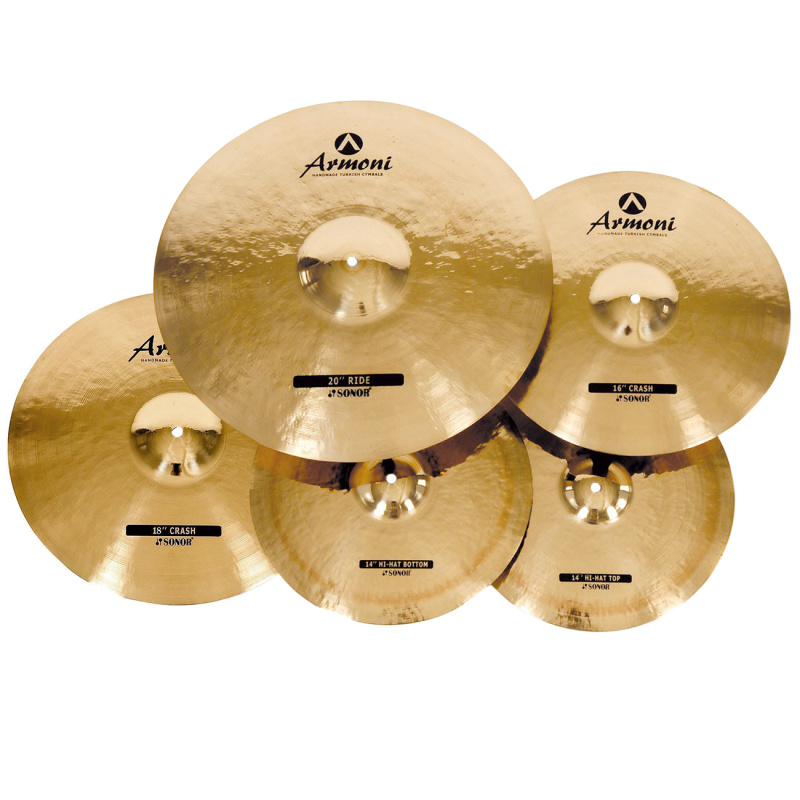 Sonor Armoni 4pc Cymbal Set With Bag