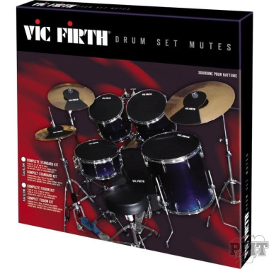 Vic Firth Drum Silencer Set – American Fusion Sizes