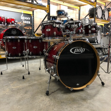 PDP X7 7pc Shell Pack, Red to Black Sparkle Burst – Pre-owned