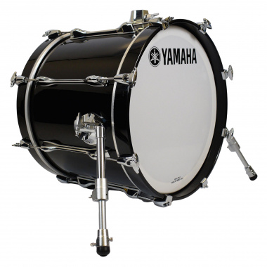 Yamaha Recording Custom 18x14in Bass Drum – Solid Black – Pre-owned