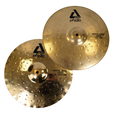Paiste Alpha 14in Metal Edge Hats – Pre-owned