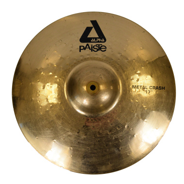 Paiste Alpha 17in Metal Crash – Pre-owned