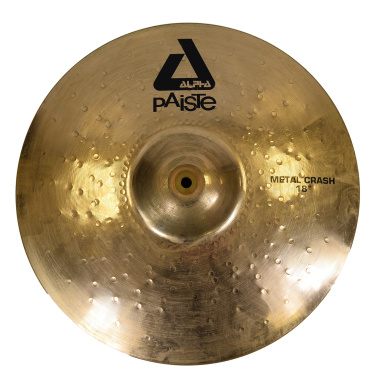 Paiste Alpha 18in Metal Crash – Pre-owned