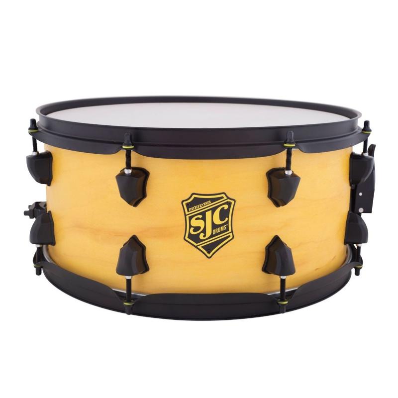 SJC Pathfinder 14×6.5in Snare Drum – Wicked Yellow