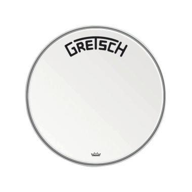 Gretsch Ambassador Coated 20in Broadkaster Logo Drum Head