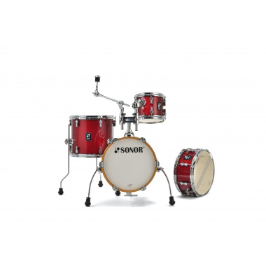 Sonor AQX Micro Set – Red Moon Sparkle