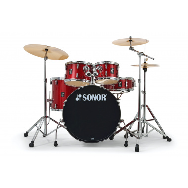 Sonor AQX Stage Set – Red Moon Sparkle