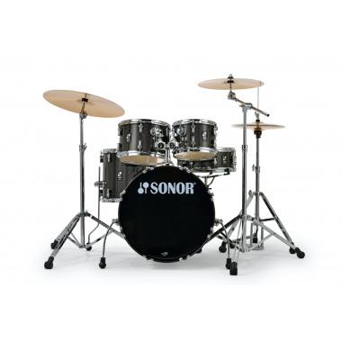 Sonor AQX Studio Set – Black Midnight Sparkle