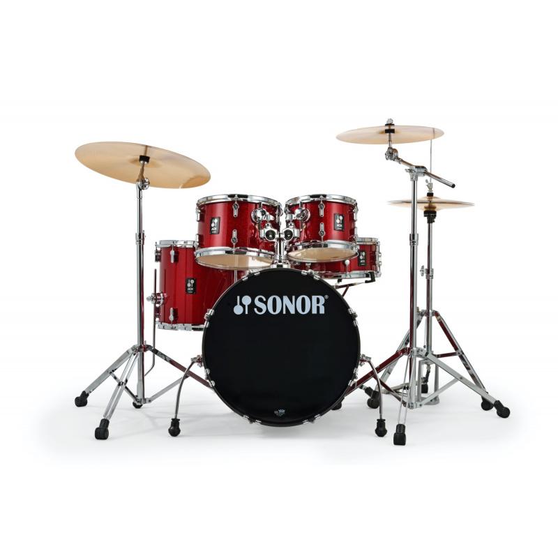 Sonor AQX Studio Set – Red Moon Sparkle