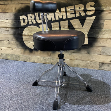 Tama 1st Chair Wide Rider Throne With Back Rest – Pre-owned