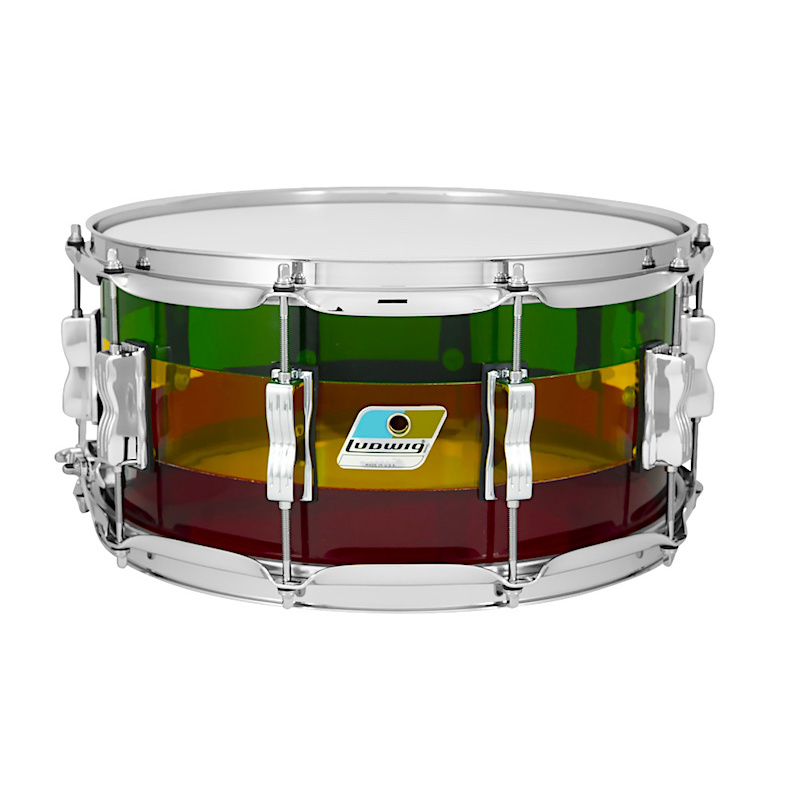 Ludwig Limited Edition Vistalite 14×6.5in Snare Drum – Island Sunset