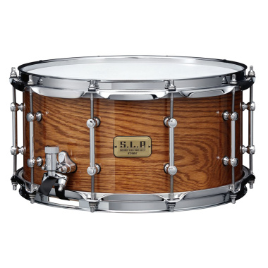 Tama SLP 14x7in G-Maple Snare Drum – Gloss Tawny Oak