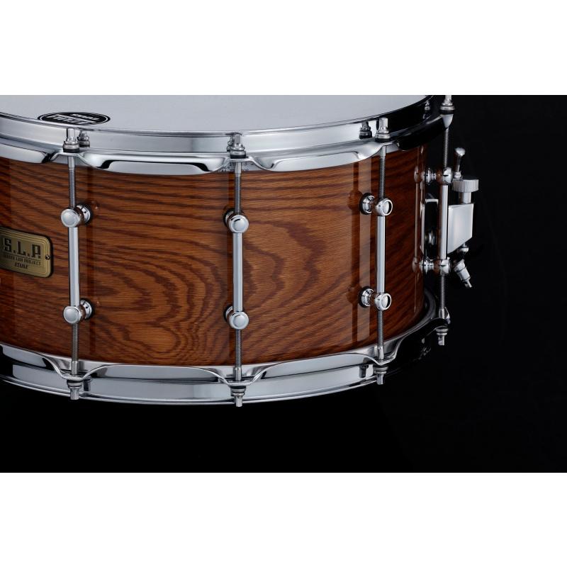 Tama SLP 14x7in G-Maple Snare Drum – Gloss Tawny Oak