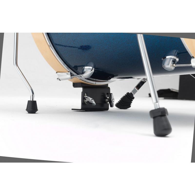 Tama Club-JAM Suitcase 3pc Shell Pack – Indigo Sparkle
