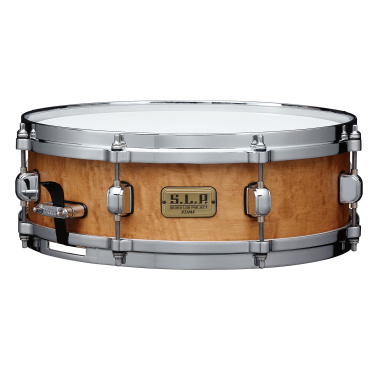 Tama SLP 14×4.5in Maple Snare – Satin Figured Maple