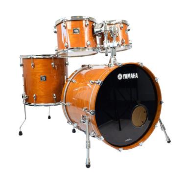 Yamaha Oak Custom 22in 4pc Shell Pack, York Honey Amber – Pre-owned