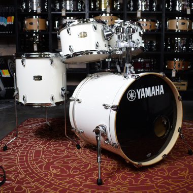 Yamaha Stage Custom Birch 20in 4pc Shell Pack – Pure White – Pre-owned