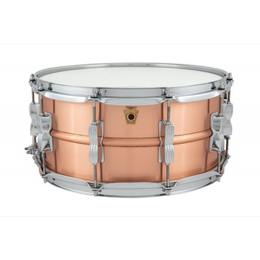 Ludwig Acro Copper 14×6.5in Snare Drum