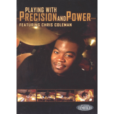 Playing With Precision And Power DVD, Featuring Chris Coleman