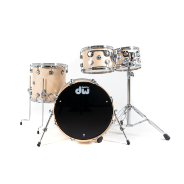 DW Collector's Satin Oil 20in 4pc Shell Pack – Natural Maple