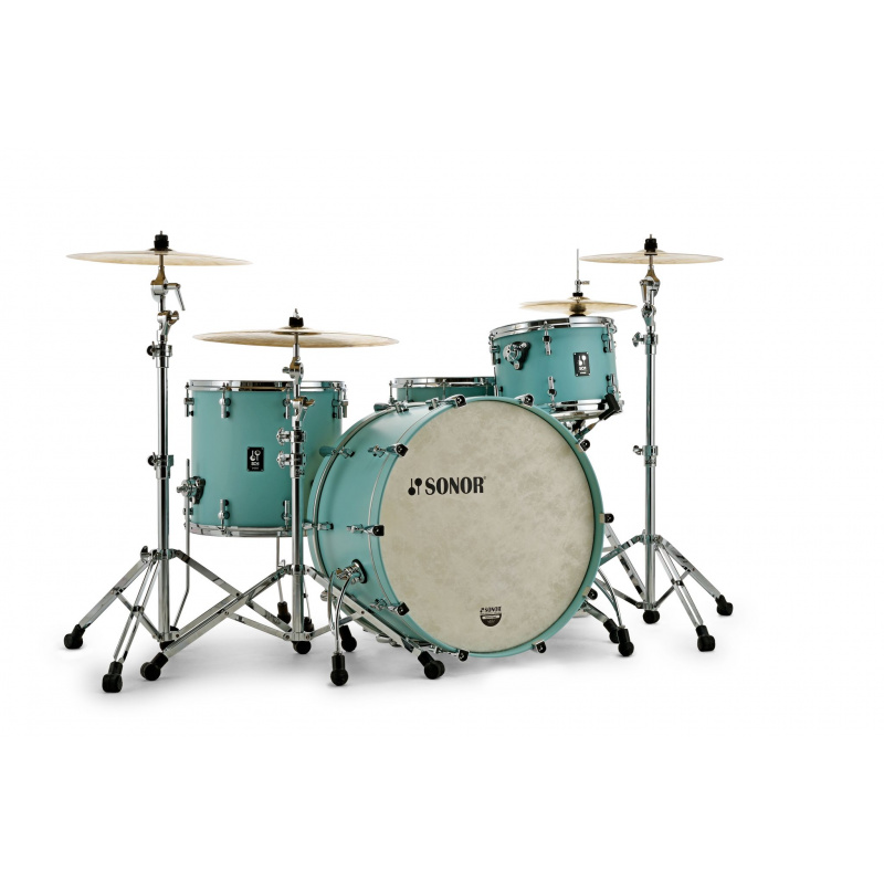 Sonor SQ1 22in 3pc Shell Pack – Matching Hoop, Cruiser Blue