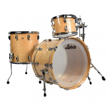 Ludwig Classic Maple 22in 3pc Shell Pack – Birdseye Maple Full Face