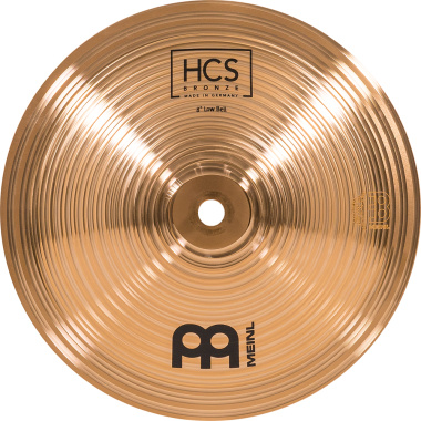 Meinl HCS Bronze 8in Low Bell